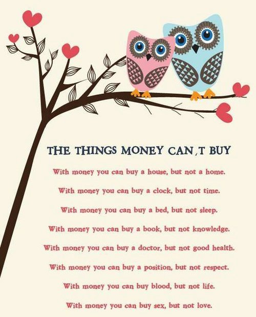 Quotes About Money Not Buying Happiness: Composite Chart & The Ex Files