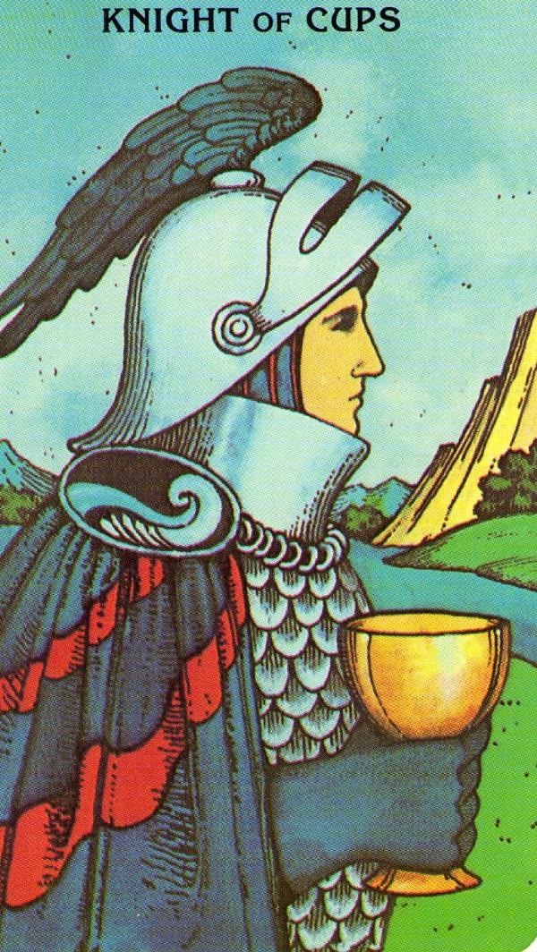 Tarot Knight Of Wands: Knight Of Cups And Neptune In Love