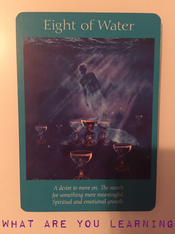 Eight of cups Tarot