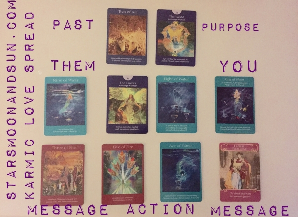 Karmic Tarot Love Spread